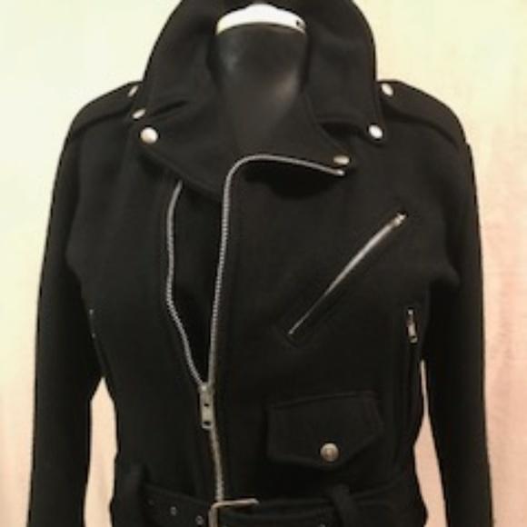 Jackets & Blazers - 100% Wool Vintage Moto Jacket